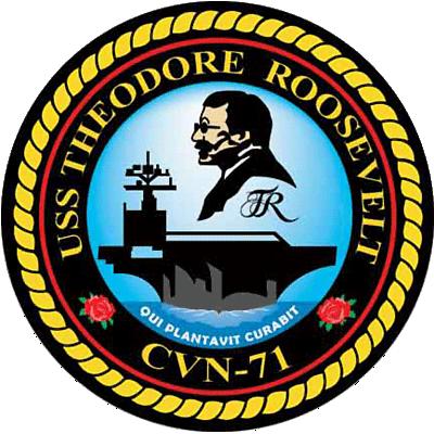 USS Theodore ROOSEVELT CVN-71 [Trumpeter 1/700] 161306CVN71insignia