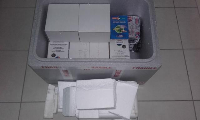 Unboxing d'une commande Grébil. 16144020171013124221