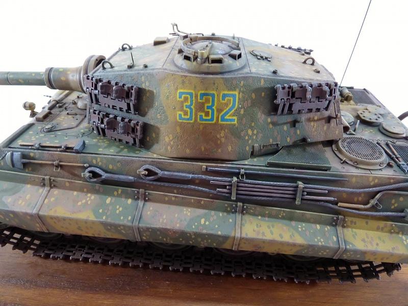 tiger - King Tiger Sd.Kfz.182 Henschel Turret Takom 1/35 161446P1060523Copier
