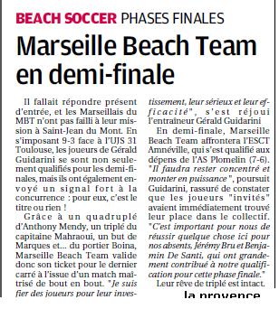 BEACH SOCCER A MARSEILLE /  MARSEILLE 12 EME MONTREDON ... - Page 2 1617942140