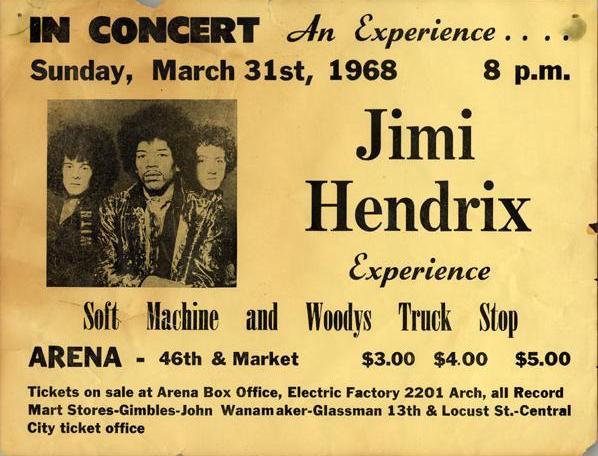 Philadelphie (Arena) : 31 mars 1968 162395Philadelphie19680331