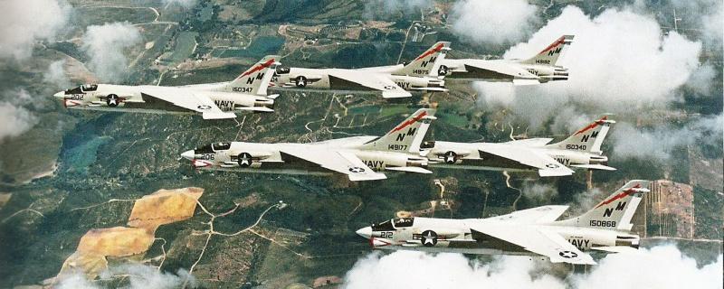 VOUGHT F-8 CRUSADER  162858VoughtF8JVF1941969