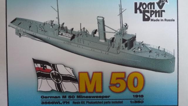 Dragueur de mine allemand SMS M50 au 350ème 163045P1010447