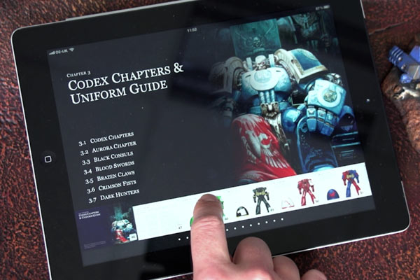 Codex sur Tablette numérique 163741tablette