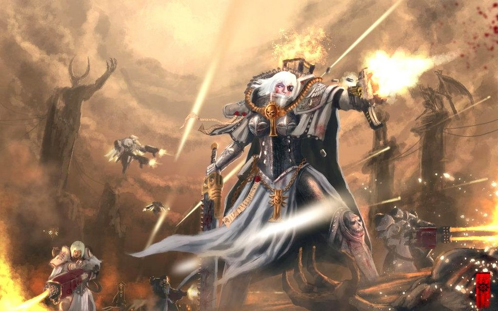 [W40K] Collection d'images : Inquisition/Chevaliers Gris/Sœurs de Bataille - Page 2 163835Battlesistersofmercy
