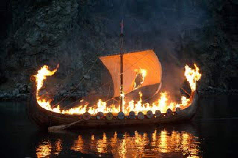 DECES DE CHRISTIAN LE NORMAND 164679Vikingfuneral798999