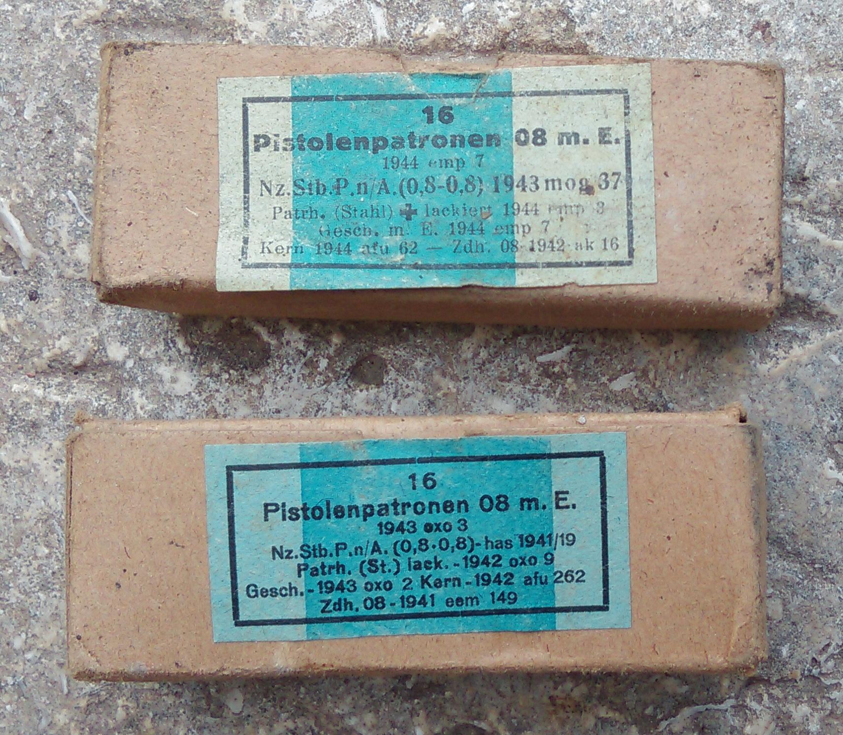 Boites allemandes 164750munP08