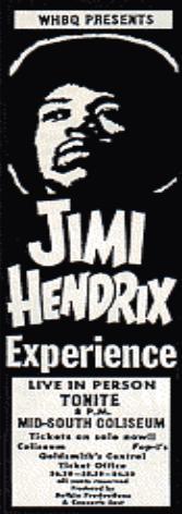 Memphis (Mid-South Coliseum) : 9 juin 1970 16519119700609Memphis