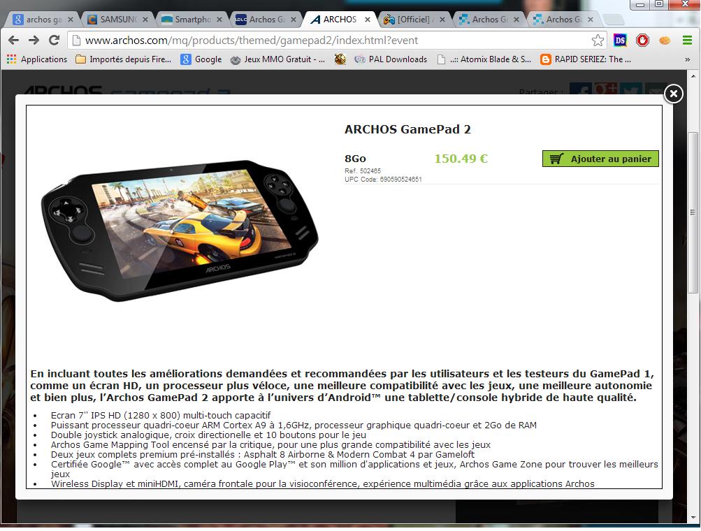 Archos GamePad2 - Page 7 165523431