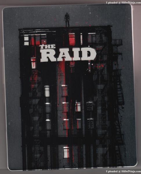 The Raid : Edition Collector 24/10/12 166439UKTheRaidBacka