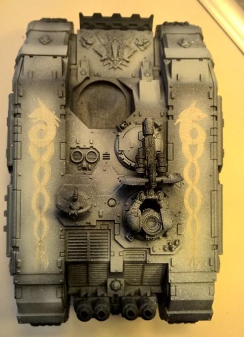 Space Wolves - Typhon... un peu particulier  - Page 2 167297Landraider5