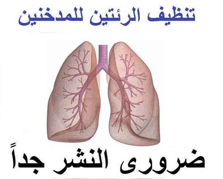تنظيف الرئتين عند المدخنين !!! 16782213793771397836843786701721544287n