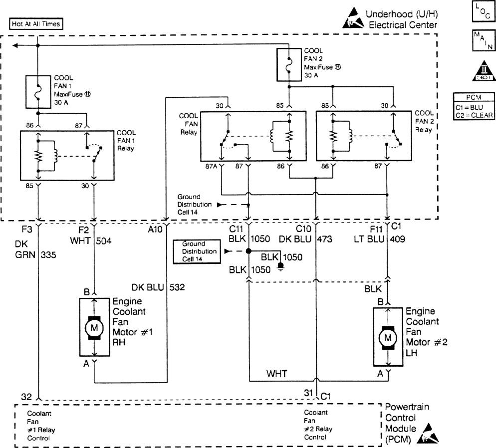 Refroidissement Pontiac/Chevrolet 3L4 168422schmaelecventilo34