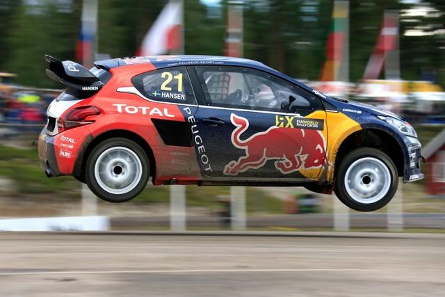 Les PEUGEOT 208 WRX enflamment la Suède - 2ème et 3ème en World RX et victoire en EURO RX 172549wrx201607010013