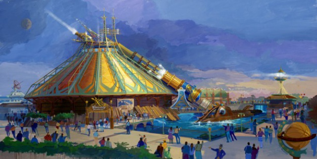 (Disneyland Park) The Disney Gallery - Exposition Mechanical Kingdoms - Steam-Driven Visions of a Victorian Future 173620tdg1