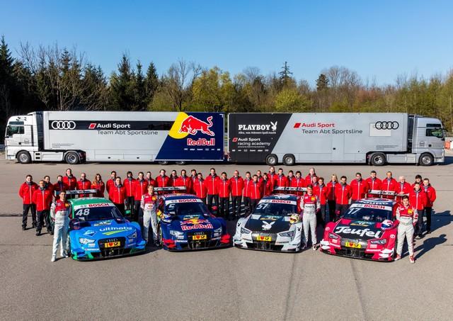 Les équipes Audi Sport sont prêtes pour l'ouverture de la saison de DTM 174014A163076medium