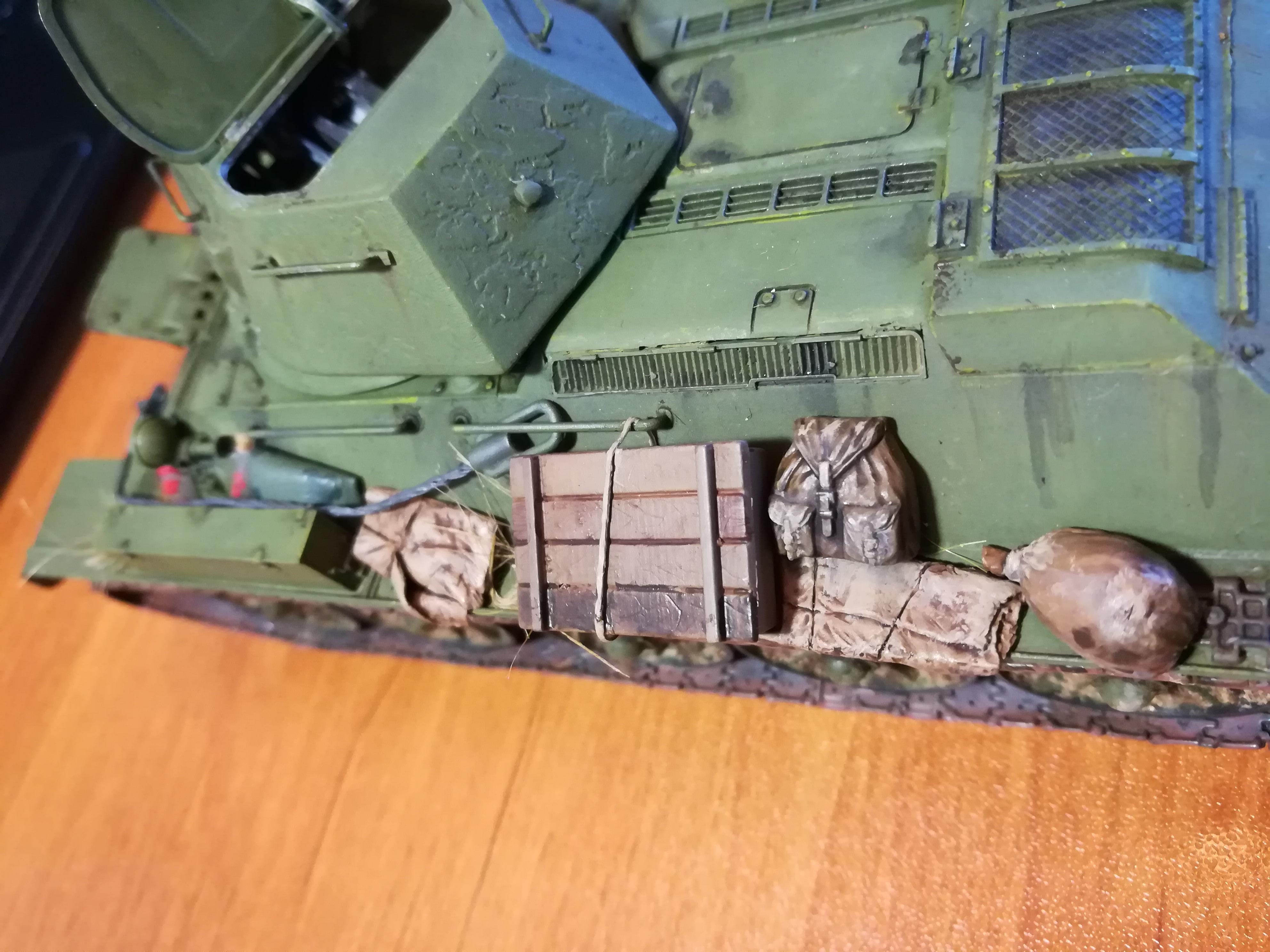 Front de l'Est, 1942 - T34 et Wehrmacht - Zvezda - 1/35 - Page 2 174388IMG20171208143240