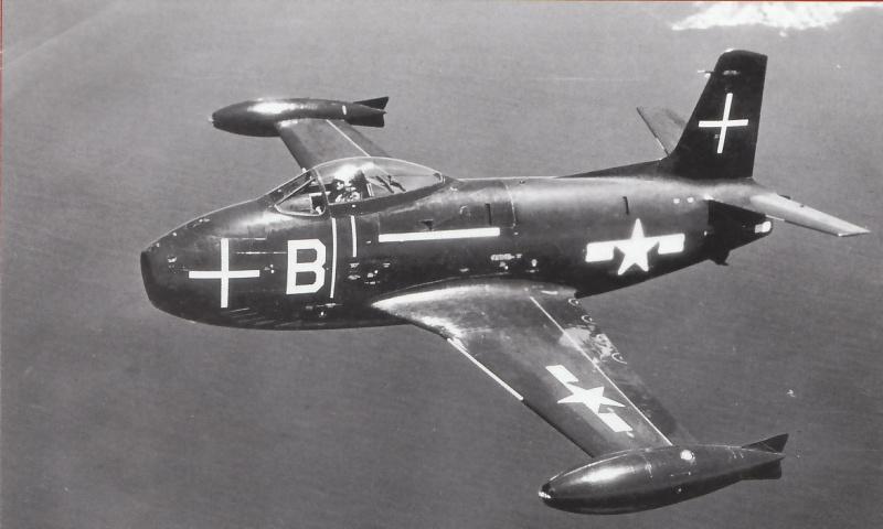 VOUGHT F-8 CRUSADER  175582NorthAmericanFJ1Fury2