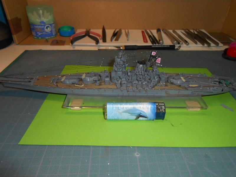Yamato 1/700 fuji, PE,Pont en bois et babioles - Page 5 177808DSCN6326