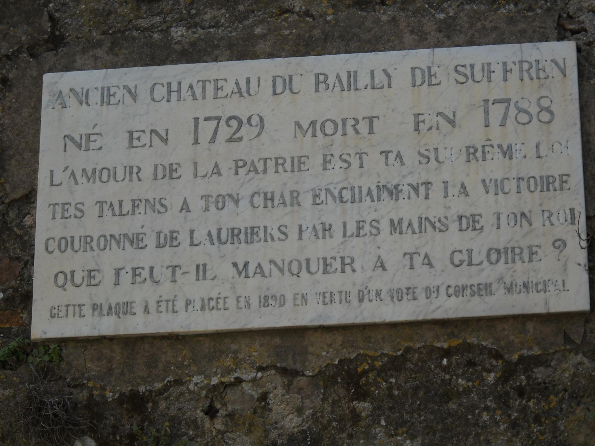 [ Histoire ET histoires ] La Statue du Vice Amiral Pierre André de SUFFREN 178403DSCN0688