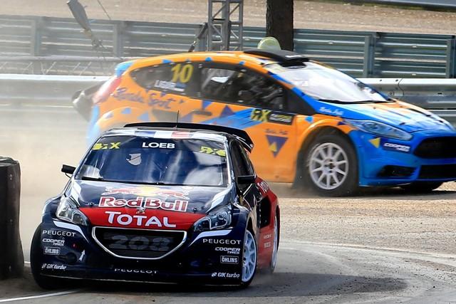 Rallycross - Sébastien Loeb remporte sa première victoire au volant de la PEUGEOT 208 WRX ! 179485wrx201610010097