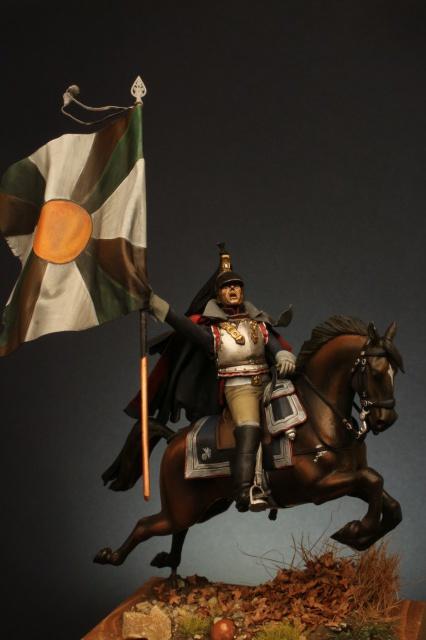 Jacquemin et le drapeau de Arkhangelogorod - Austerlitz 1805 181520FrancoisJacqueminAusterlitz180550