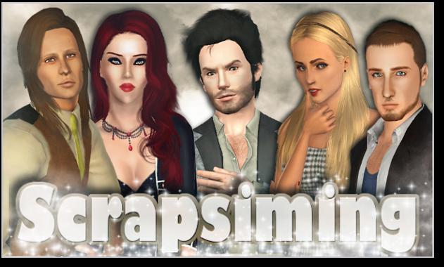 [Modeling masculin Sims 3] Scrapsiming 181818Tadam