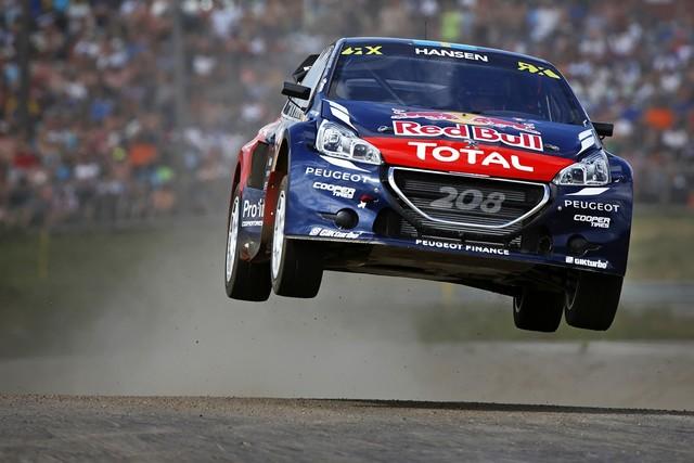 Le Team Peugeot Hansen dépossédé de la victoire en Suède 183292MG66301