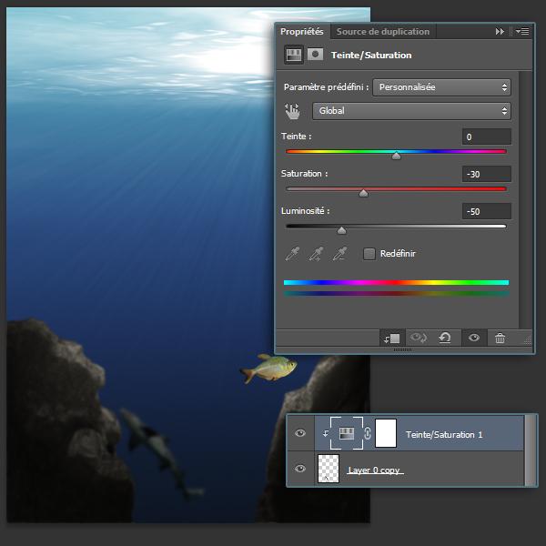 [Photoshop] Créer un décor sous-marin 18423119k