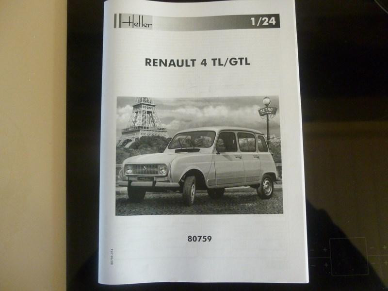 RENAULT 4L GTL 1/24ème Réf 80759  184390P1000503Copier