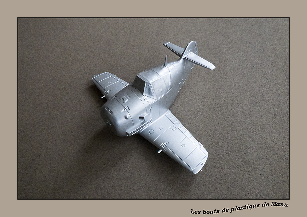 Bf 109 Tiger Model egg plane-FINI ! 1861583532