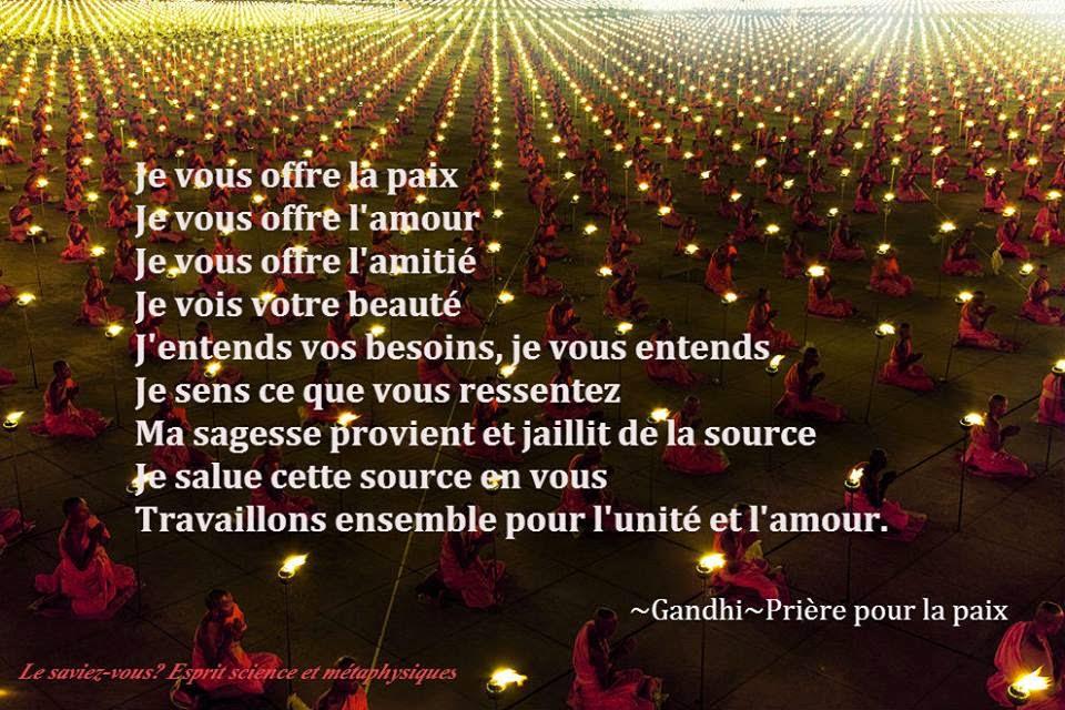 """""""Apportons notre lumière pour la paix dans le monde"""" - Page 2 187303agandhioffre"""