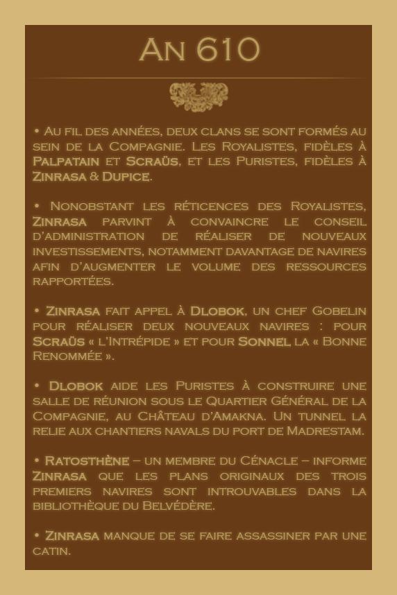 Chronologie des Odyssées de la Compagnie des Zindes 19244705610