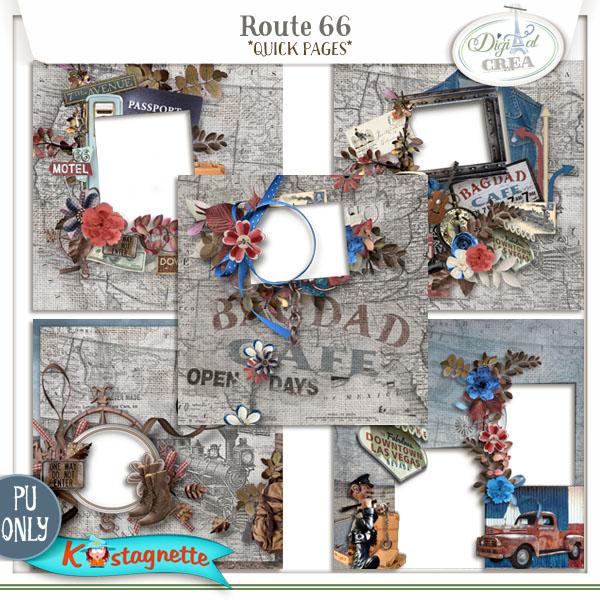 Collection Route 66 de Kastagnette + Promo 192889373