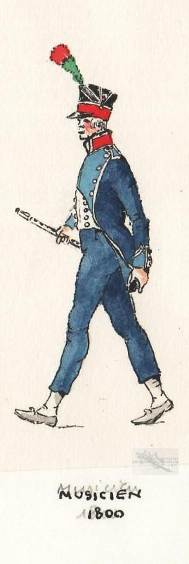 musique d'infanterie légère en 1800 193372ico2436