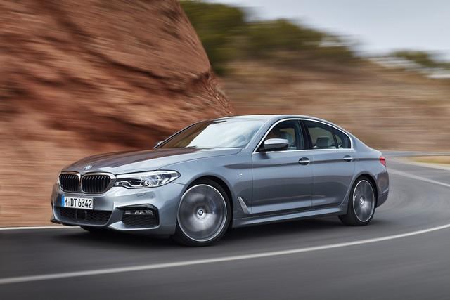 La nouvelle BMW Série 5 Berline. Plus légère, plus dynamique, plus sobre et entièrement interconnectée 193785P90237243highResthenewbmw5series