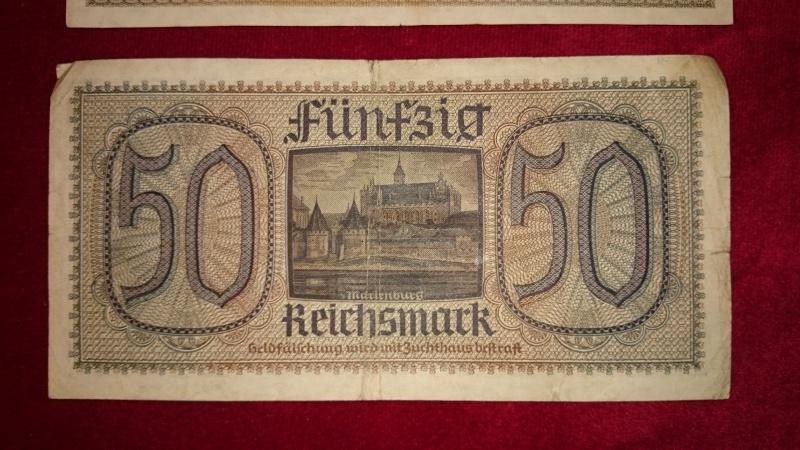 lot billet 20 et 50 reichsmark 197342DSC0033
