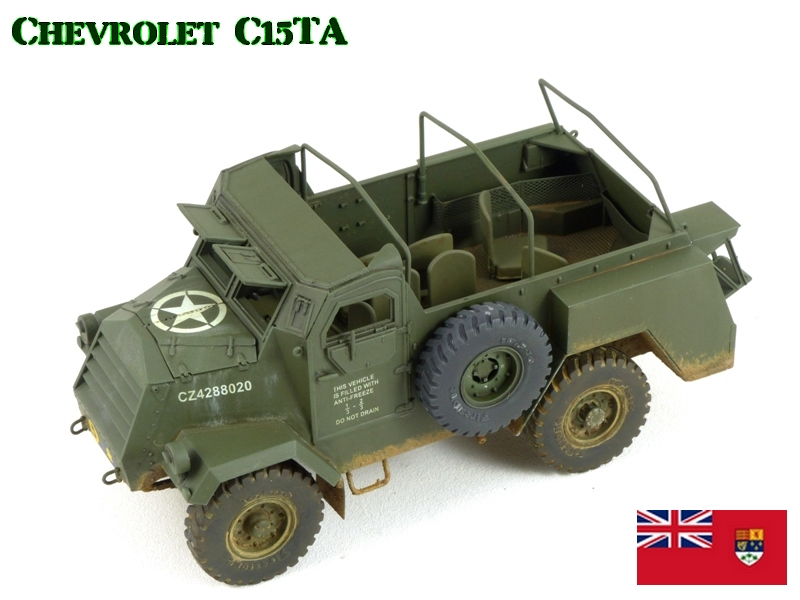 CHEVROLET C15TA - Normandie 44 - IBG 1/35 198863P1040560