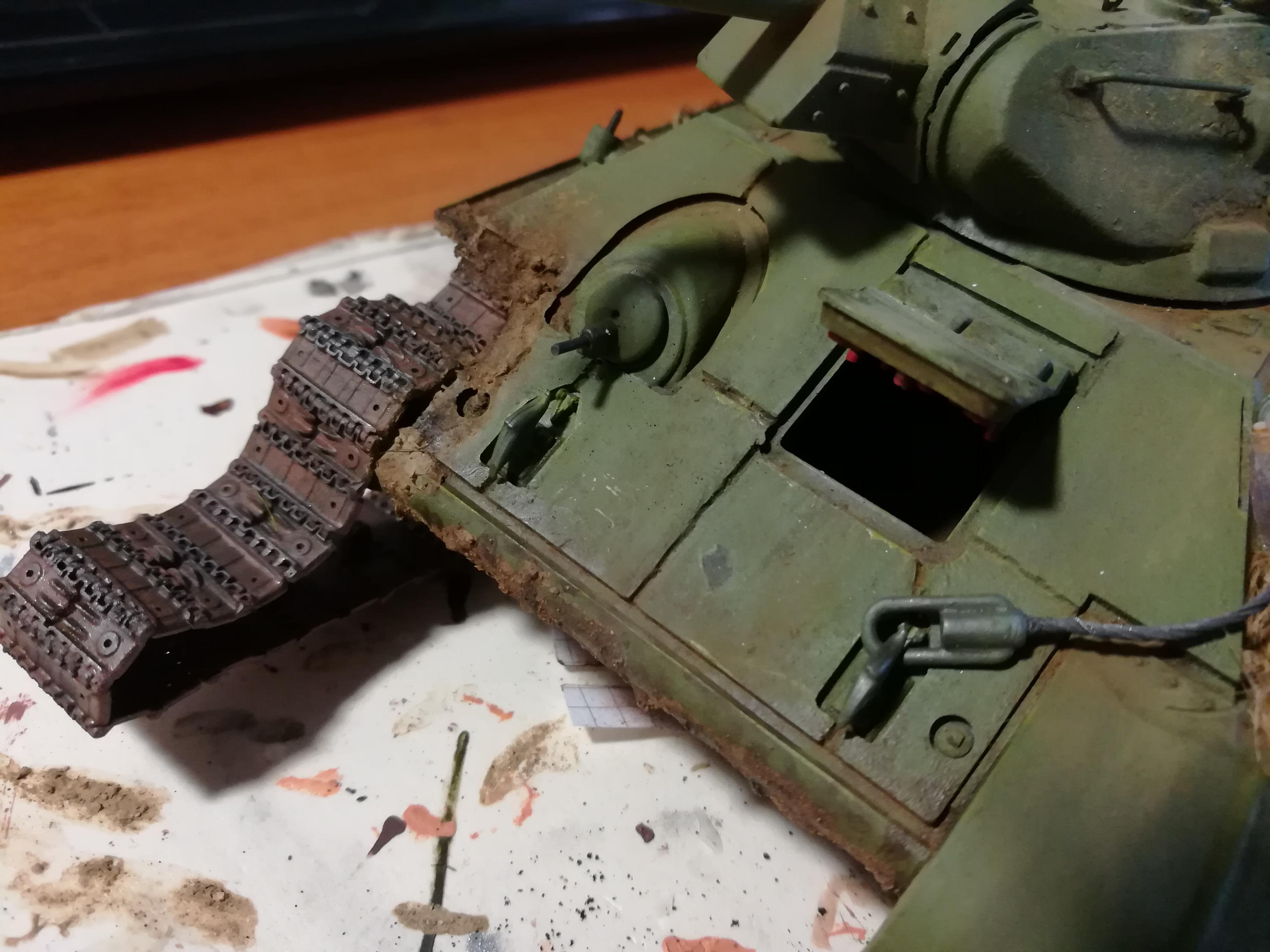 Front de l'Est, 1942 - T34 et Wehrmacht - Zvezda - 1/35 - Page 2 200057IMG20171210140206