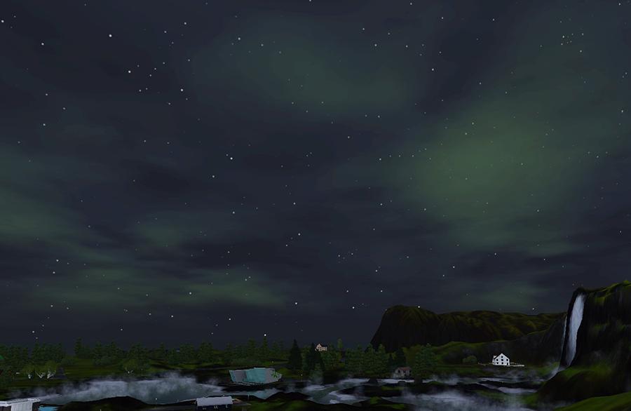 Monde sims : Aurora Skies 200735aurore1