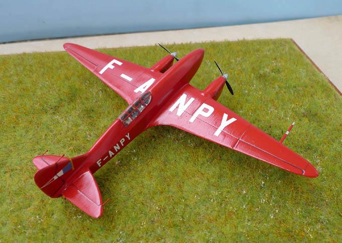 [Airfix + conversion Whirlybird] De Havilland 88 Comet... Français 200893Dh88Comet30