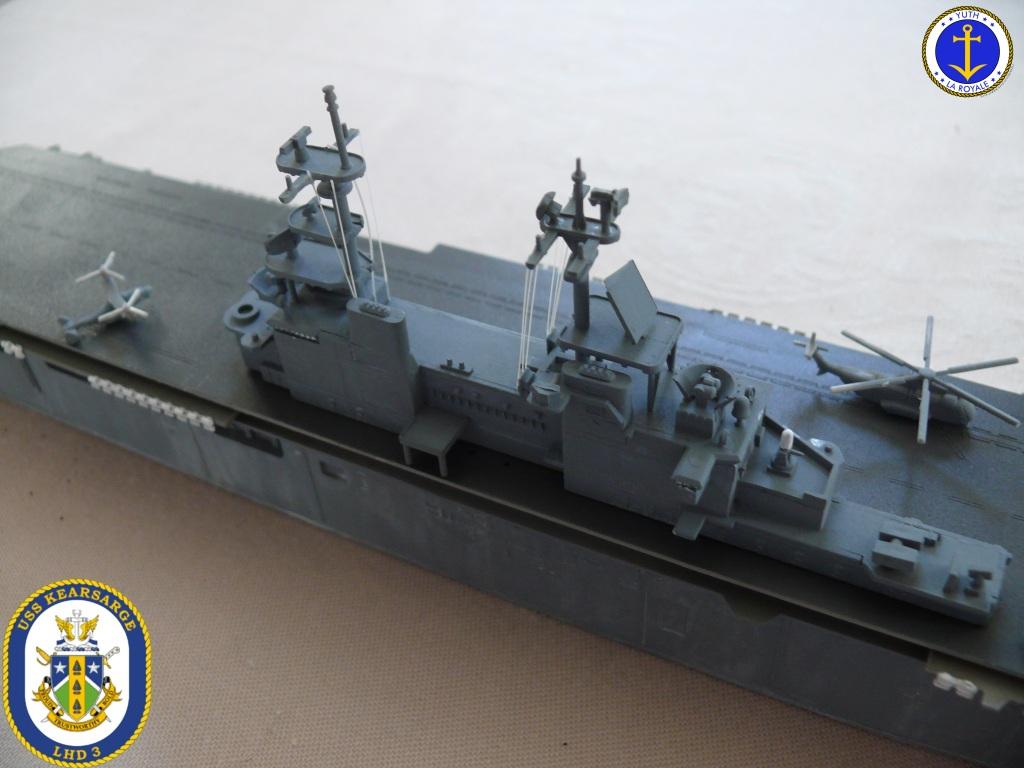 USS KEARSARGE LHD-3 1/700 REVELL 201206Kearsarge19