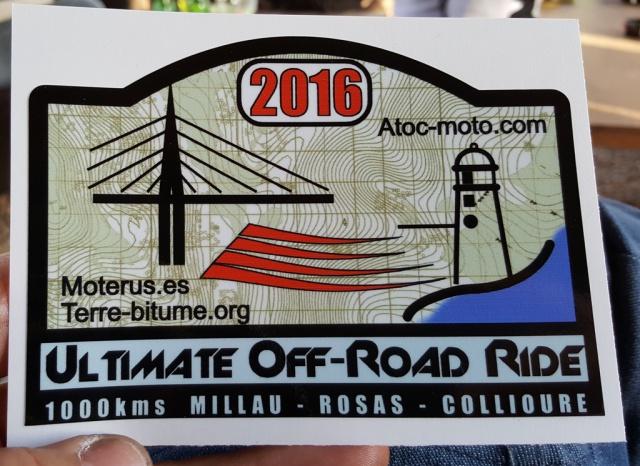 Ultimate Off Road 2016 : de Millau a Collioure, 1000 bornes de pistes en maxi trail 201242selectionUOR201611