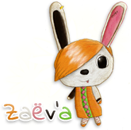 Zaëv'a mascotte de Dōbutsu no Mori