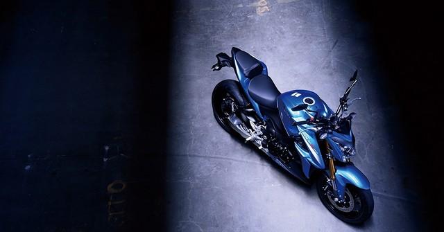 Suzuki dévoile son nouveau roadster au cœur de sportive 201995gsxs1000al6action9