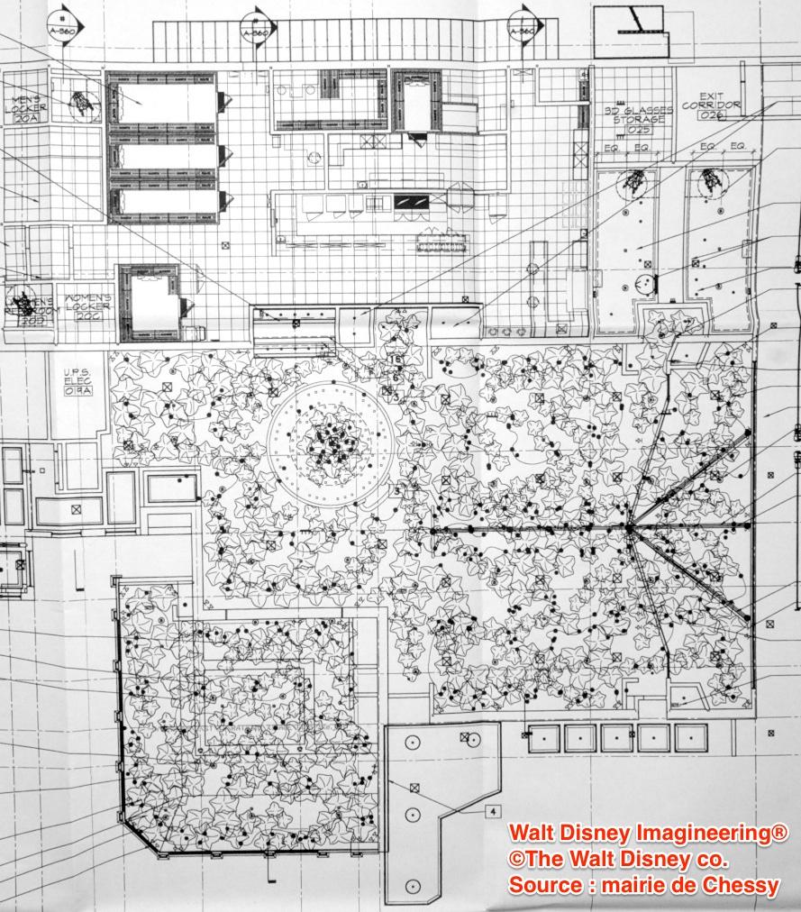 [Attraction et Restaurant] Ratatouille au Parc Walt Disney Studios (été 2014) - Page 15 203307PlanRatatouillePlafondRestoCR