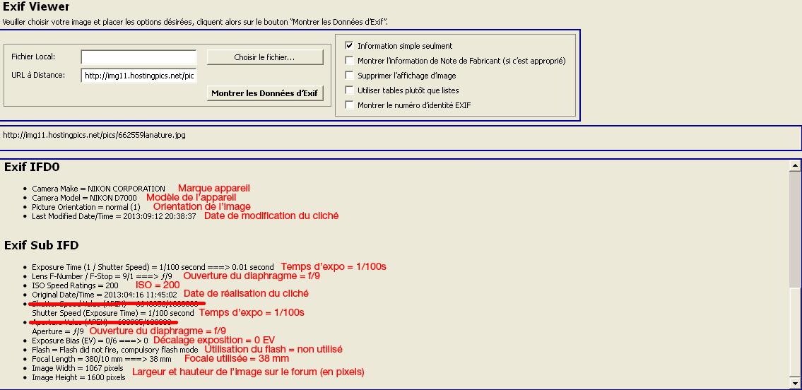 Comment voir les exifs d'une photo sur le forum ? 203381exif