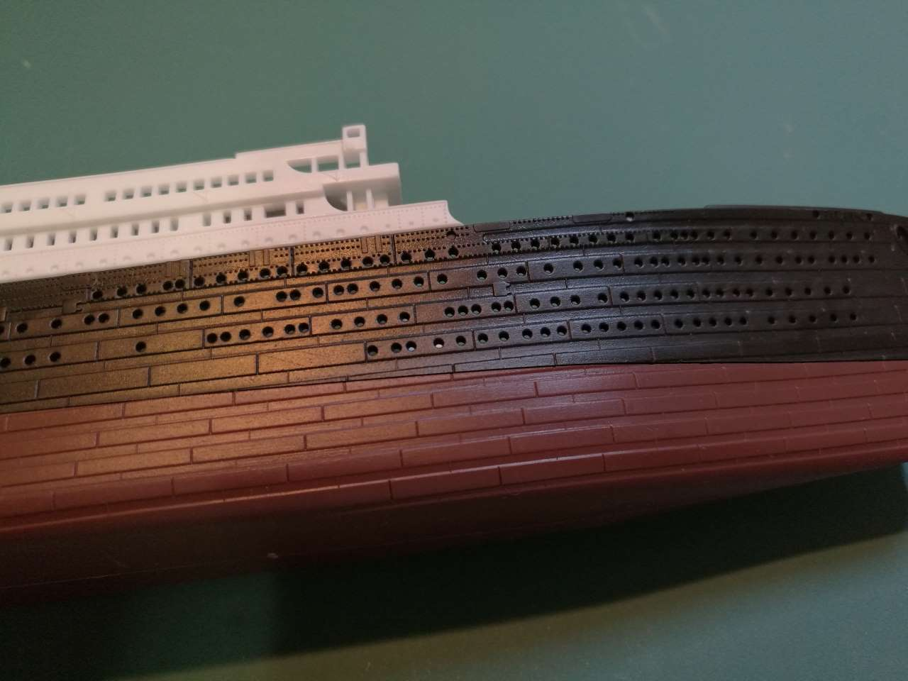 RMS Titanic 1/700 LED Set ACADEMY 203411TitanicAcademy11