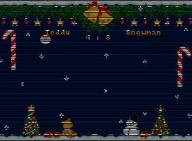 Santaball - un homebrew pour la Neo-Geo CD 203728santaball2
