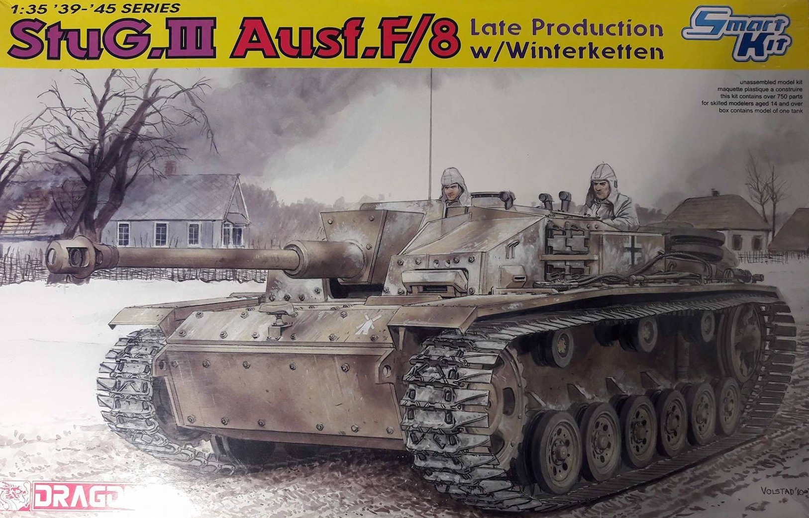 StuG.III Ausf.F/8 late production w/Winterketten - 1/35 205699StugIIIDragonBox
